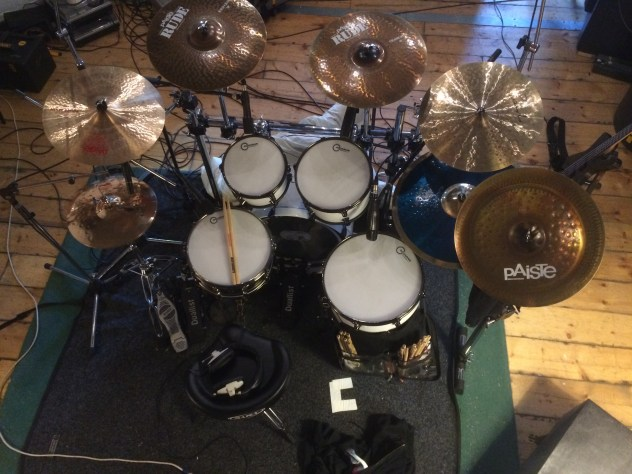 The white kit in the studio