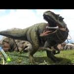 #33【ARK】Lv145特選ギガノトサウルス!ついにテイム!【Season4】【RAGNAROK】【ARK Survival Evolved】【公式PVE】[ゲーム実況by月冬]