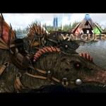 #22【ARK:Val】スピノサウルス変種お手伝いで2匹の神個体!&月冬はカエル【Valguero】【PC版公式PVE:ARK Survival Evolved】【バルゲロ】[ゲーム実況by月冬]