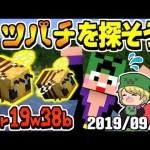 【マインクラフト】匠帽子の「最新verでミツバチ探しの旅!」【2019/09/19】[ゲーム実況byshow]