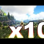 Live#50【ARK】最大10倍!耐久ARK:Live!チャリティイベント【PC版:ARK Survival Evolved公式PVE】【月冬】[ゲーム実況by月冬]
