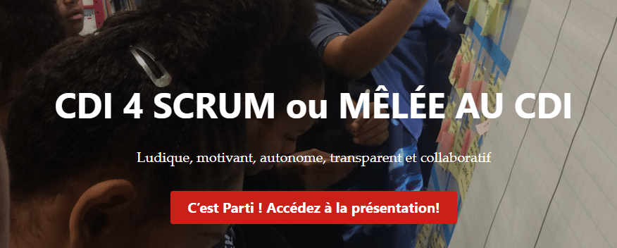 Site CDI4SCRUM