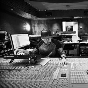 Mike Shinoda in the studio