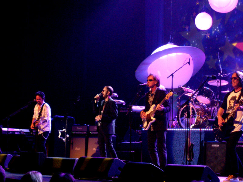 Ringo Starr and his All-Starr Band in Clearwater, FL, July 2012