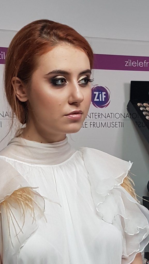 Zilele Internationale ale Frumusetii makeup Mirela Pancu bridal