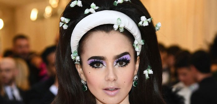MET Gala 2019 Lilly Collins