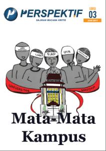 Book Cover: Buletin Bulanan 2017 Edisi 3: Mata-mata Kampus