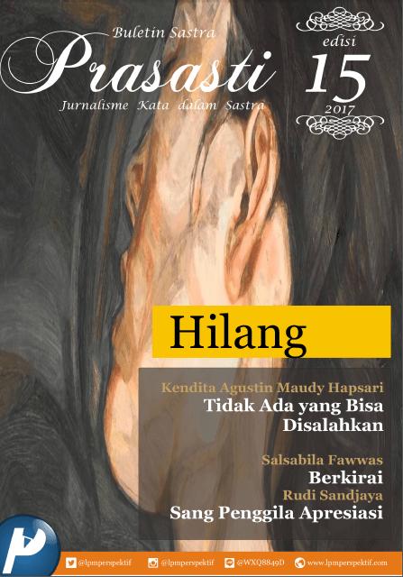 Book Cover: Buletin Prasasti Edisi 15: Hilang