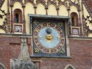 Horloge sur l'Hotel de ville