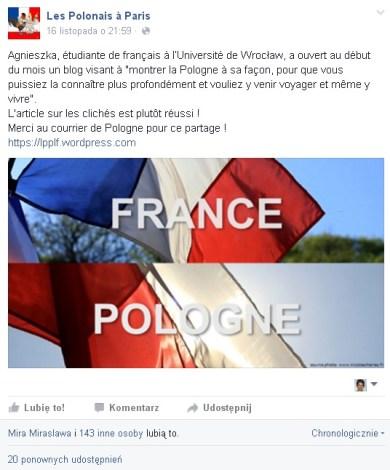 blog sur les polonais a paris