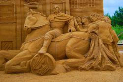 21 Festival des sculptures de sable à Gdańsk (2)
