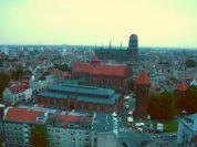 9 La vue de la tour de l'église de St Caterine