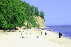 La falaise de Gdynia