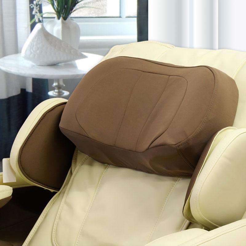 ELPIS EC 380D: подголовник и воздушные подушки для массажа плеч