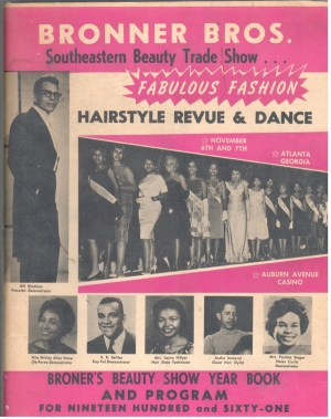 Bronner Brothers Trade Show Yearbook 1961