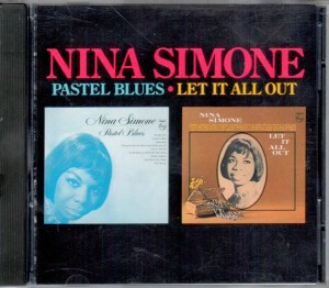 Nina Simone Pastel Blues Let It All Out CD 846 663-2