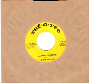 Gene Allison Almost Sundown I understand 45