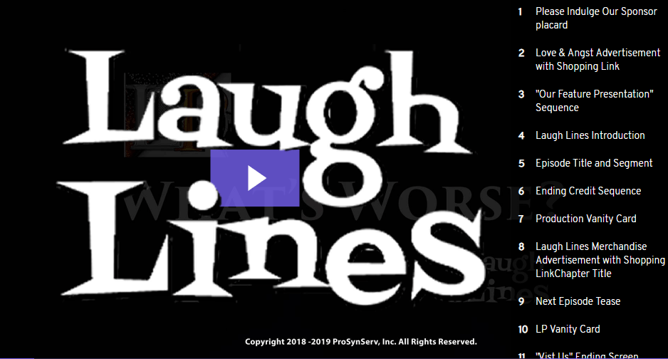 Laugh Lines - Good Bad Worse Featured Image