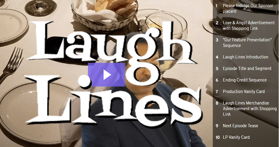 Laugh Lines - LP On Dieting
