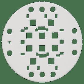 Circular Ceramic Substrate