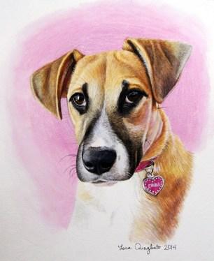"""""""Emma"""", watercolor"""