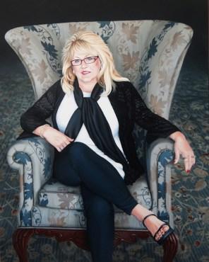 Mrs Gladden. full portrait