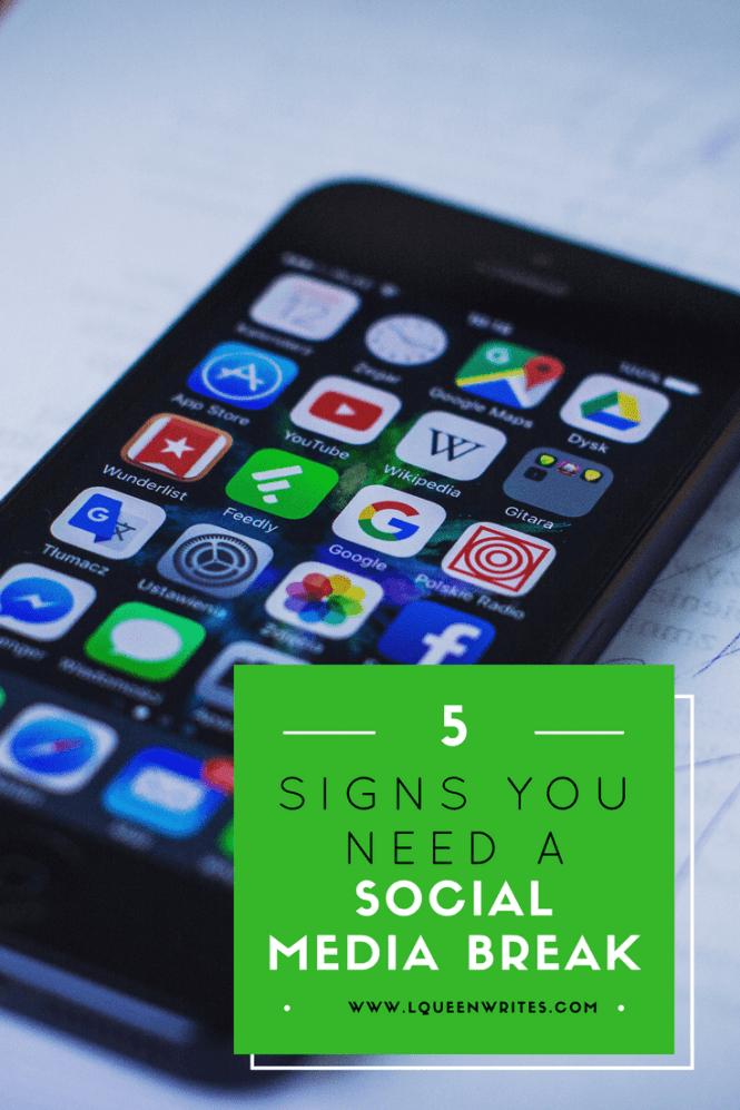 reasons why you need a social media break