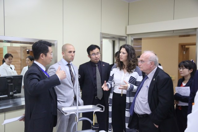 Communication with Dr. Wang