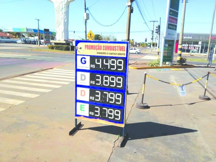A1 Preço dos Combustíveis - TRês Lagoas Cláudio César (1).jpg