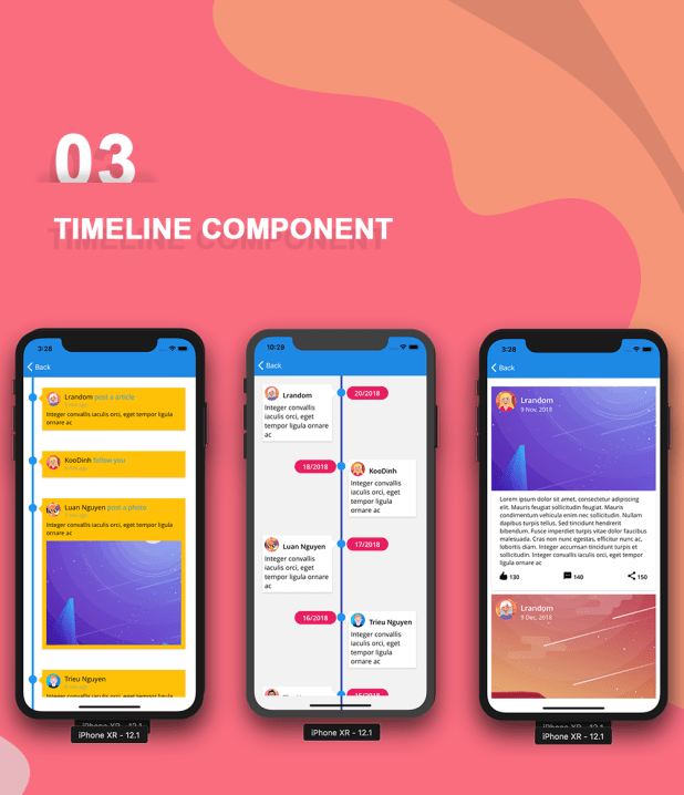Phoenix - Full multipurpose React-Native Application & UI Component - 13
