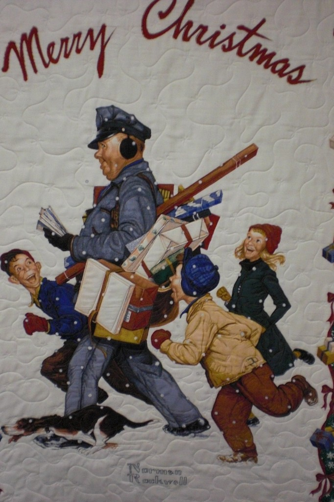 Norman Rockwell Mailman L Amp R Designs Quilting
