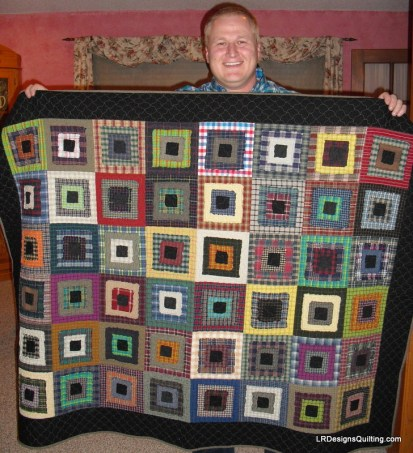 Chris's Christmas Quilt 2012 - 2