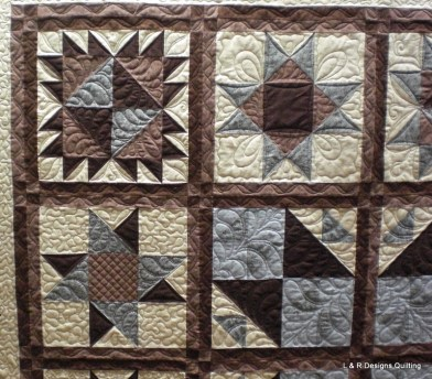 Mary's Star Sampler Quilt 3