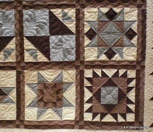 Mary's Star Sampler Quilt 5