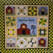 Shelby's Barn quilt 1