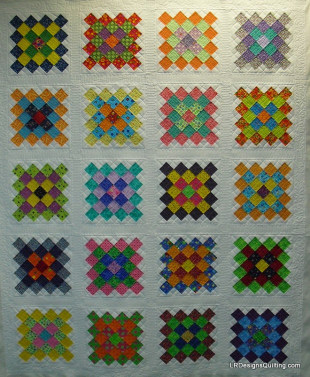 Candace's Great Granny Square quilt