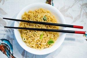 Ramen noodles - Twice Shy - romantic comedy novel - romcom
