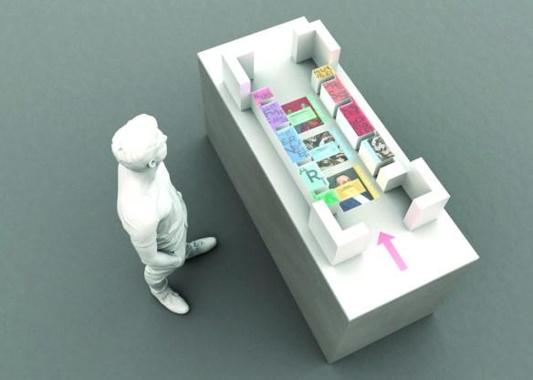 Thomas Guillard. Bon plan. Projet d'optimisation du plan des salles de lectures et de matérialisation du plan dans l'espace