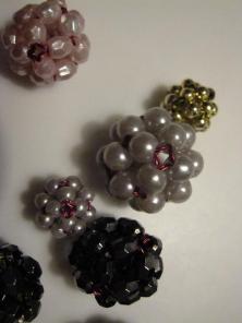Lidt blandede perlekugler