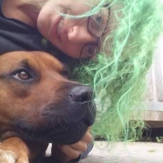 mig og hund