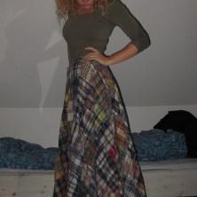 Min lange nederdel