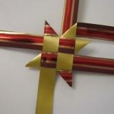 Guide til flettede julestjerner, trin for trin
