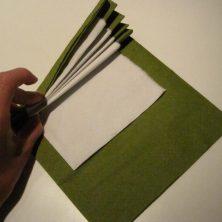 Vifte servietter i flere farver