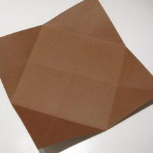 fold en kvadratisk æske - trin 6Guide til foldede æsker, del 1