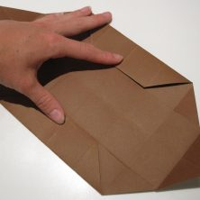 fold en kvadratisk æske - trin 16