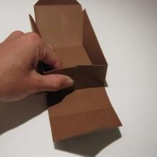 fold en kvadratisk æske - trin 18