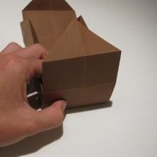 fold en kvadratisk æske - trin 19