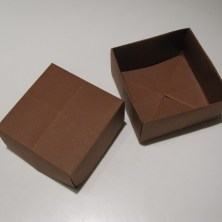 fold en kvadratisk æske - trin 20