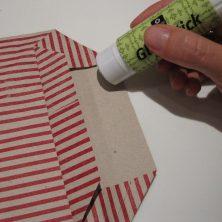 Foldet papir pose - trin 9