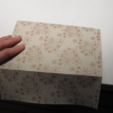 Sådan folder man en gaveæske - trin 2